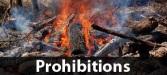 Fire Prohibitions